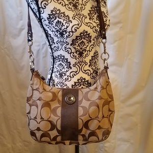 Coach adjustable crossbody purse